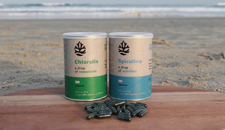 como tomar spirulina e chlorella - spirulina e chlorella na praia