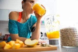antioxidantes mais poderosos : suco de laranja