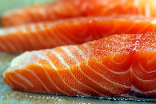Astaxantina : salmão