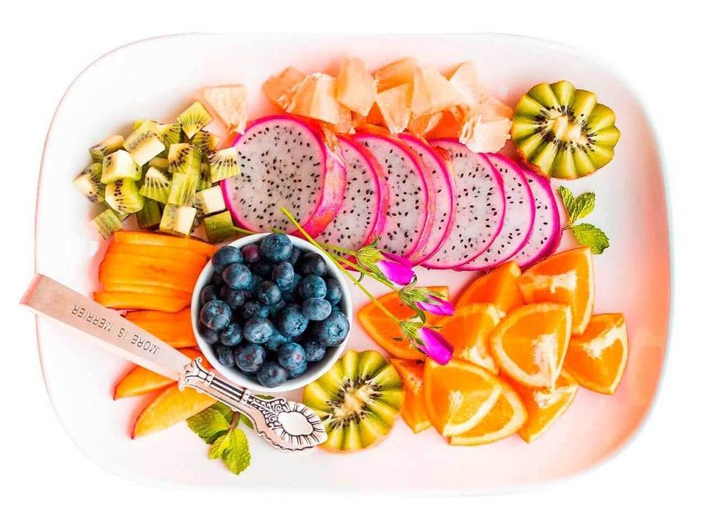 vitaminas para a pele : alimentos