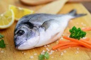ômega 3 EPA e DHA : peixe