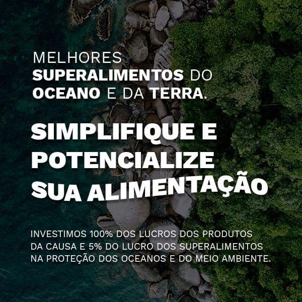 Melhores suplementos do oceano e da terra
